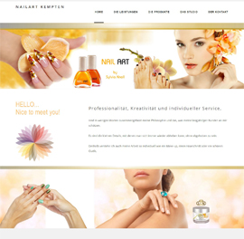 Bodensee-Design - Website Referenz - Nagelstudio Kempten