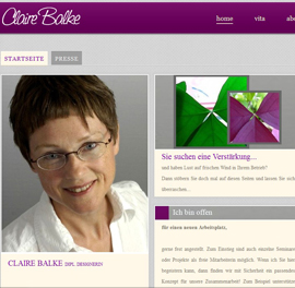 Bodensee-Design Referenz Website Fotografin Clair Balke