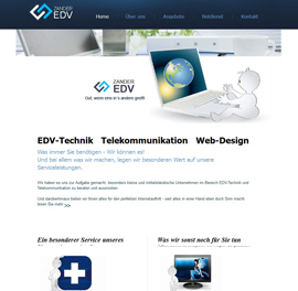 Bodensee-Design Referenz Website EDV-Zander