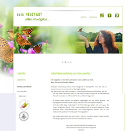 Bodensee-Design Referenz Website Dein-Neustart