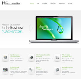 Bodensee-Design Referenz Website MG-Media